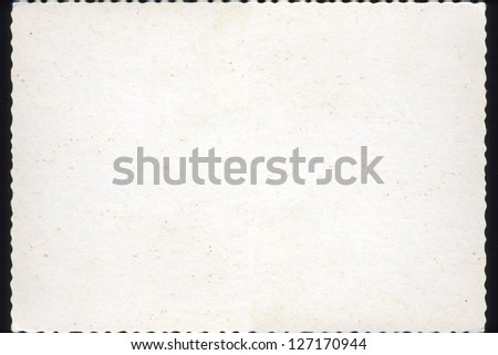 Blank postcard brown paper background - stock photo