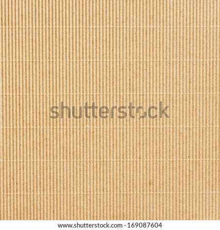 Blank recycled paper - cardboard. Texture or background - stock photo