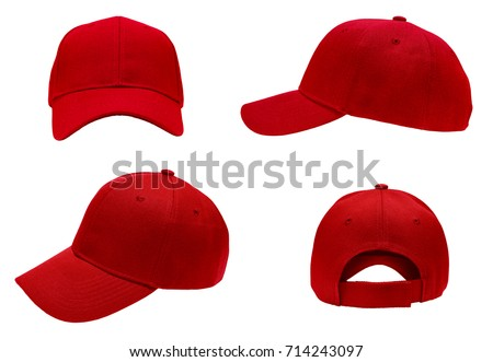 red white and blue camo baseball hats cap hat stock photo blank view background