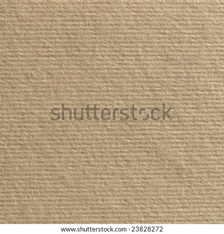 Blank sheet of brown paper material texture