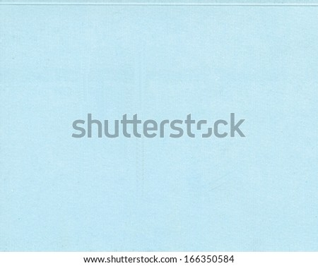Blank sheet of light blue paper useful as a background - stock photo