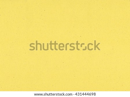 Blank sheet of yellow paper useful as a background - stock photo