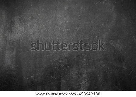 Blank space on the dark blackboard - stock photo