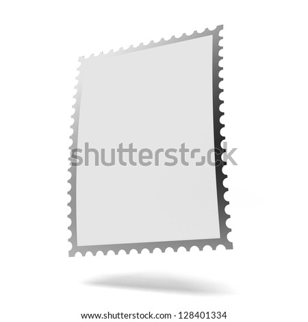 Blank Stamp Template Stock Vector 98525261 - Shutterstock