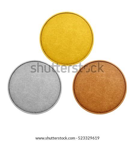 blank medal template