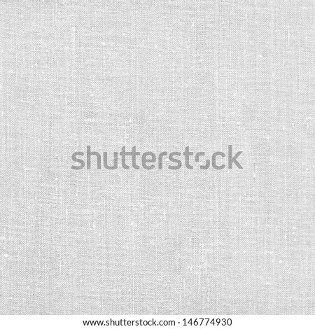 Blank white canvas page. High resolution scanned image - stock photo