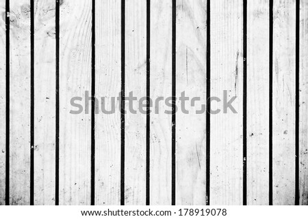 Blank white wooden boards
