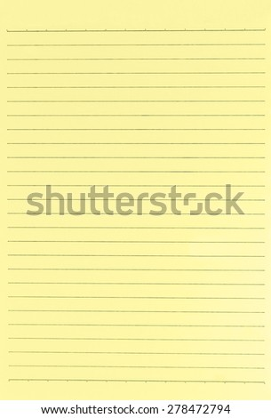 Blank worksheet. Isolated on white background clipping path