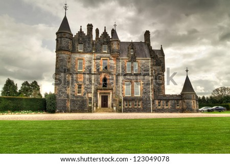 Blarney House at the castle in Co. Cork, Ireland - stock photo