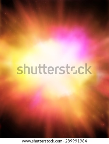 Blast of color  - stock photo