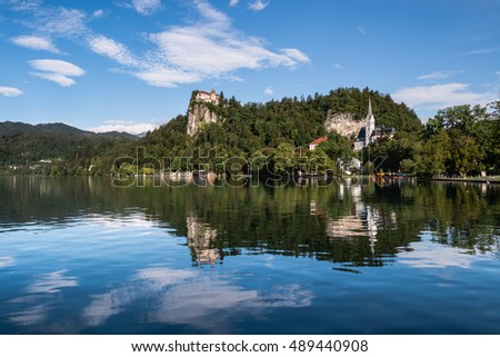 Bled Lake Reflections