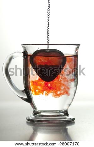 Bleeding Heart Tea - stock photo