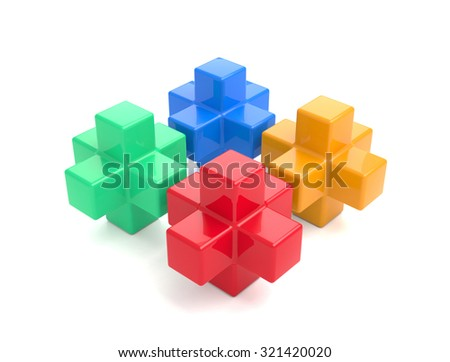 Block - stock photo