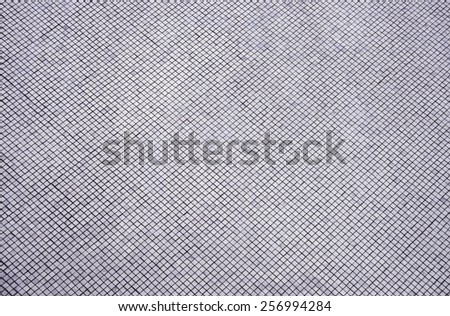 block silver mosaic for background - stock photo