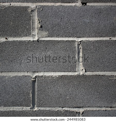 Block wall surface