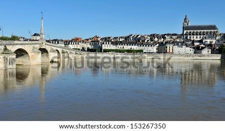 Blois, Loire-et-Cher, Centre, France - stock photo