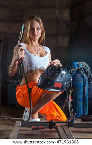 welder naked Sexy girls