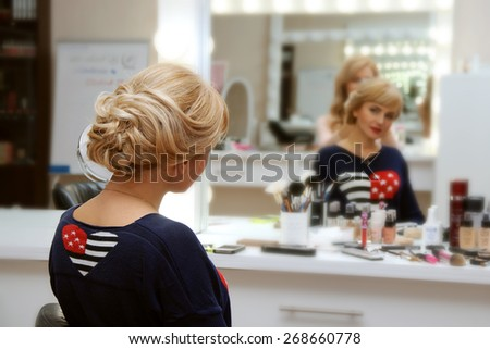 Salon Mirror Stock Images Royalty Free Images Amp Vectors
