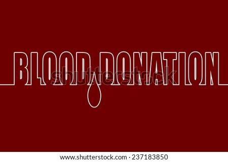 Blood Donation - stock photo