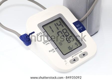 Blood pressure - stock photo