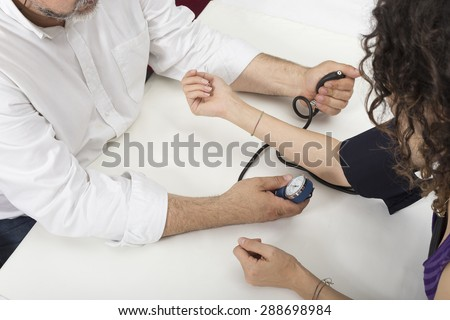 Blood pressure measure