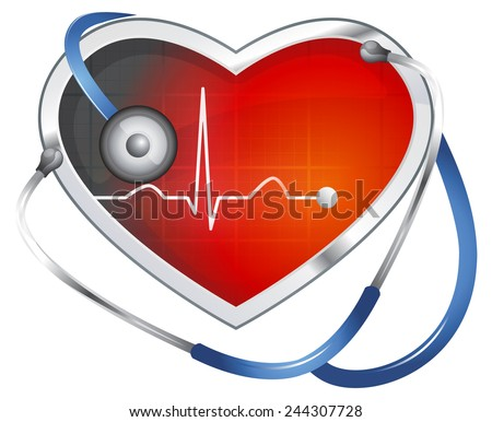 Blood Pressure Monitoring - Concept Image - stock photo