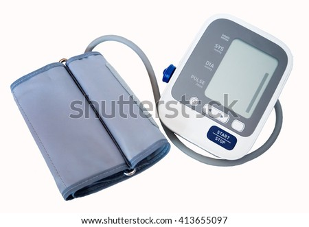 Blood pressure monitors use in arm