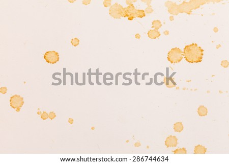 blots on paper - stock photo