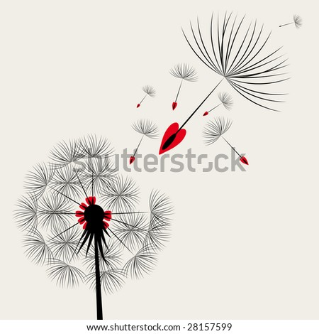 Blow Dandelion.