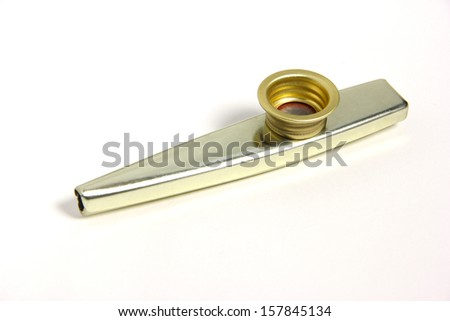 blow musical instruments - stock photo