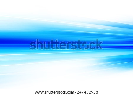 Blue Abstract Art Futuristic Background - stock photo