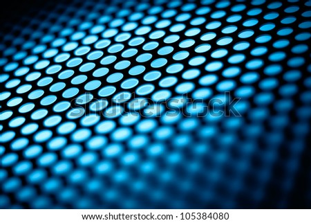 Blue abstract background. - stock photo