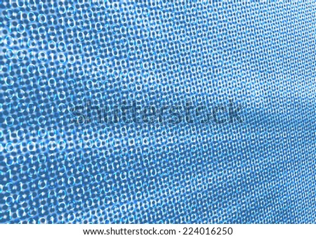 Blue abstract background for digital big data representing large data volume in IT organizations by bits and bytes - stock photo