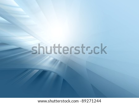 Blue  abstract background for various  design artworks, cards - stock photo