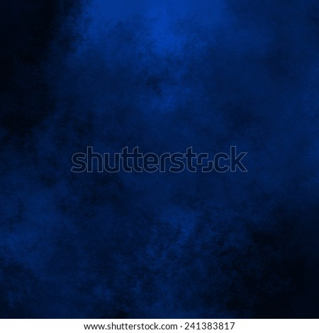 blue abstract background old paper texture with watercolor stains pattern