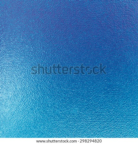 blue abstract background sheet of glass texture - stock photo
