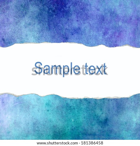 Blue abstract background with blank space for text - stock photo