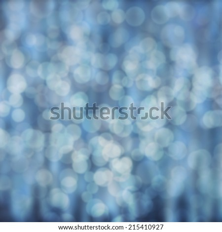 blue abstract background with bokeh lights