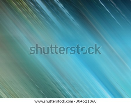 Blue abstract defocused motion blur, colorful blurred background - stock photo