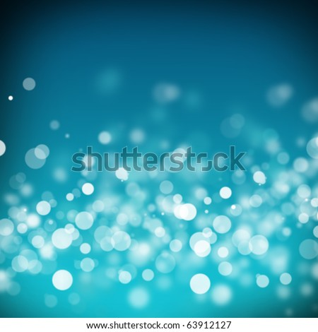 blue abstract light background - stock photo