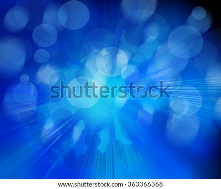 blue abstract light effect - photo #5