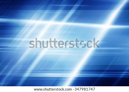 Blue Abstract Motion Background