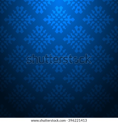 Blue abstract striped textured geometric pattern