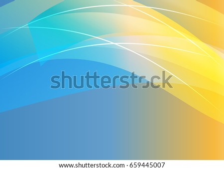 blue abstract template for card or banner abstract background