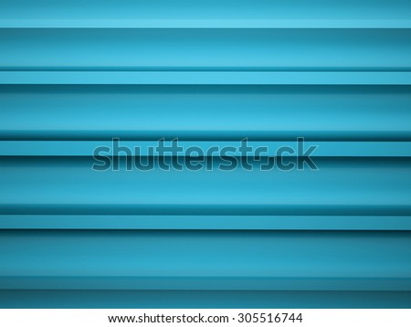 Blue abstract tubes background rendered