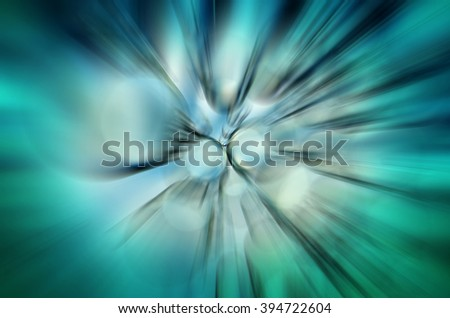 blue abstraction - stock photo