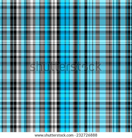 blue and gray Tartan seamless background