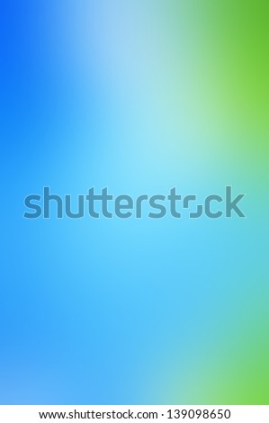 Blue and green abstract background - stock photo