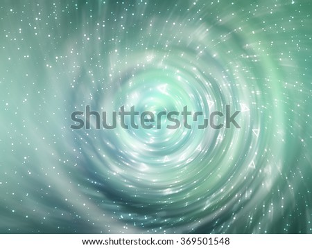 Blue and green abstract background holidays lights in motion blur image