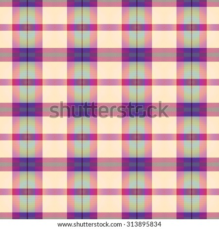 blue and pink Tartan seamless background
